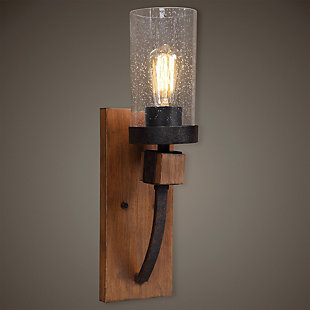 Uttermost Atwood 1 Light Sconce, , rollover