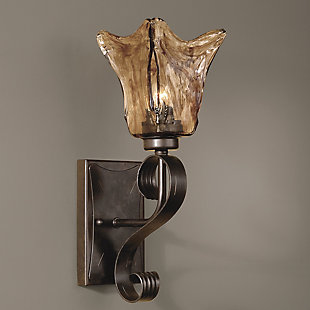 Uttermost Vetraio Glass Wall Sconce, , rollover
