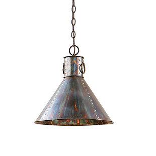 Uttermost Levone 1 Light Oxidized Bronze Pendant, , large