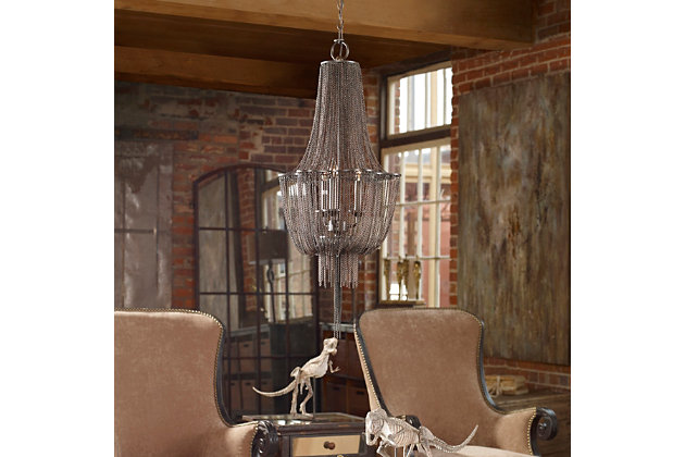 Uttermost Lezzeno 3 Light Chandelier, , large