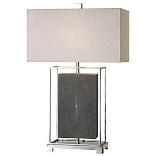 Uttermost Sakana Gray Textured Table Lamp, , large