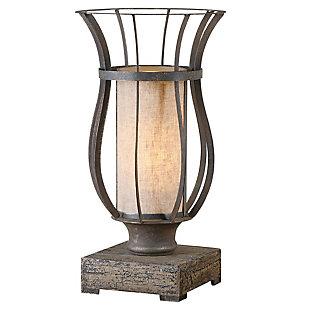Uttermost Minozzo Bronze Accent Lamp, , large