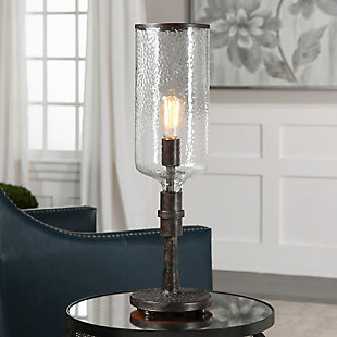Uttermost Hadley Old Industrial Accent Lamp, , rollover