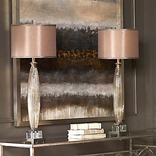 Uttermost Loredo Mercury Glass Table Lamp, , rollover