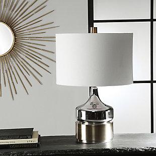 Uttermost Como Chrome Table Lamp, , rollover