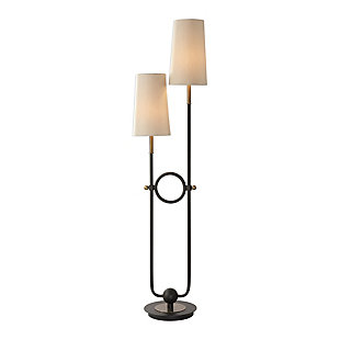 Uttermost Riano 2 Arm / 2 Light Floor Lamp, , large
