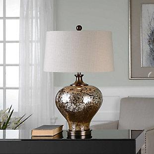 Uttermost Liro Mercury Glass Table Lamp, , rollover