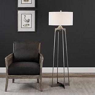 Uttermost Adrian Modern Floor Lamp, , rollover