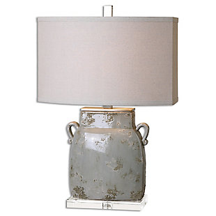 Uttermost Melizzano Ivory-Gray Table Lamp, , large