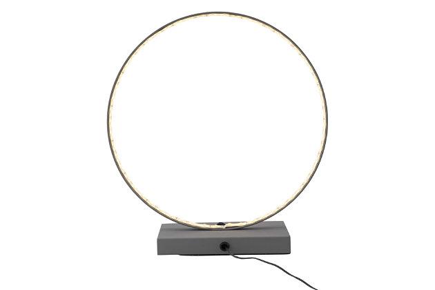 Pong Circular LED Table Lamp, , large