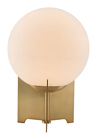 Phoe Frosted Glass Table Lamp, , large