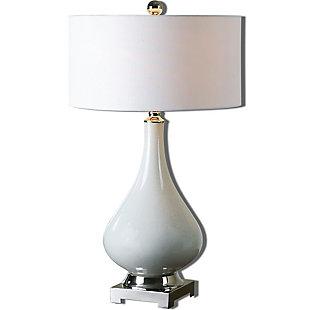 Uttermost Helton White Table Lamp, , large
