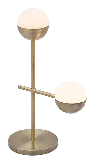 Waterloo Mid Century Table Lamp, , large