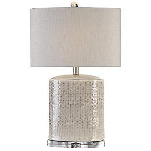 Uttermost Modica Taupe Ceramic Lamp, , large