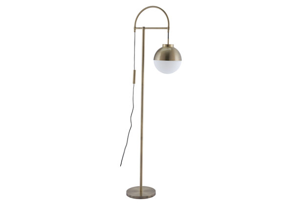 Waterloo Arc Floor Lamp, , large