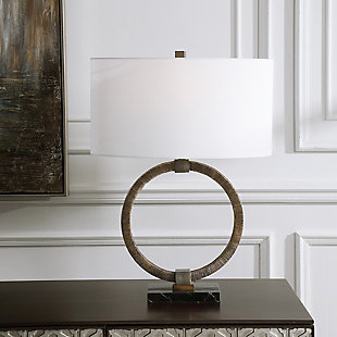 Uttermost Relic Aged Gold Table Lamp, , rollover