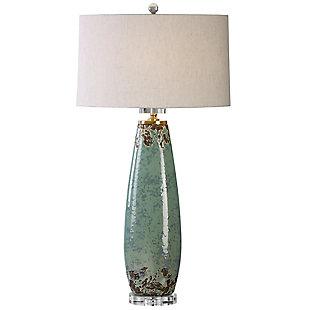 Uttermost Rovasenda Mint Green Table Lamp, , large