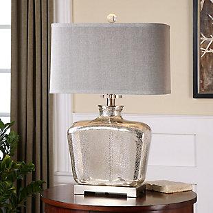 Uttermost Molinara Mercury Glass Table Lamp, , rollover