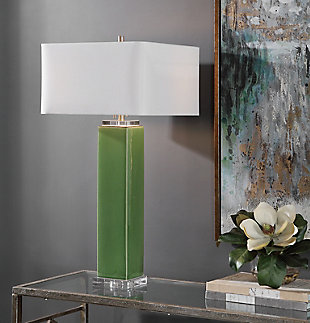 Uttermost Aneeza Tropical Green Table Lamp, , rollover