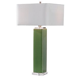 Uttermost Aneeza Tropical Green Table Lamp, , large