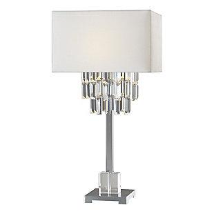 Uttermost Resana Polished Nickel Lamp, , large