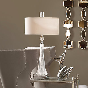 Uttermost Grancona Twisted Glass Table Lamp, , rollover
