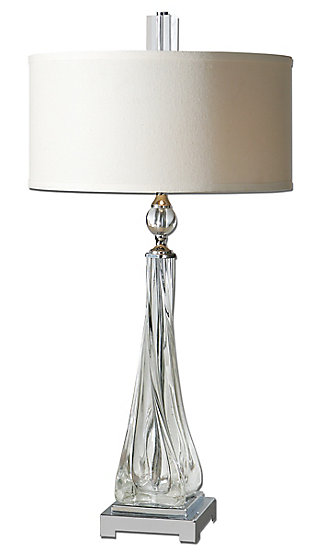 Uttermost Grancona Twisted Glass Table Lamp, , large