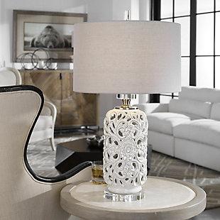 Uttermost Dahlina Ceramic Table Lamp, , rollover