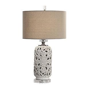 Uttermost Dahlina Ceramic Table Lamp, , large