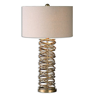 Uttermost Amarey Metal Ring Table Lamp, , large