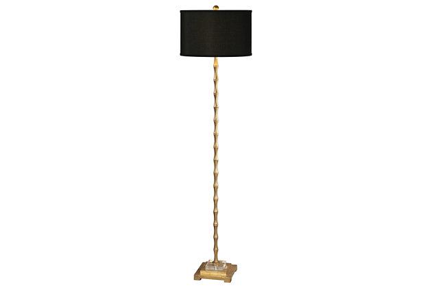 Uttermost Quindici Metal Bamboo Floor Lamp, , large