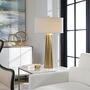 Uttermost Maris Gold Table Lamp, , rollover