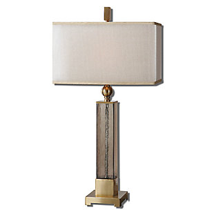 Uttermost Caecilia Amber Glass Table Lamp, , large