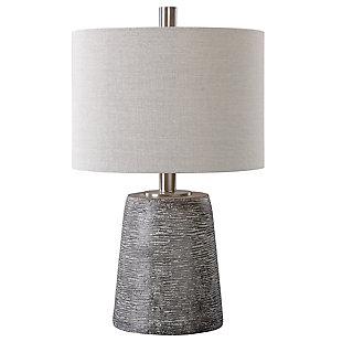 Uttermost Duron Bronze Ceramic Lamp, , large