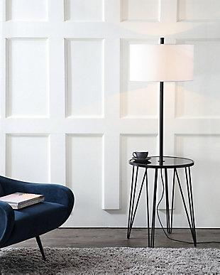 Ciro  Floor Lamp Side Table, , rollover