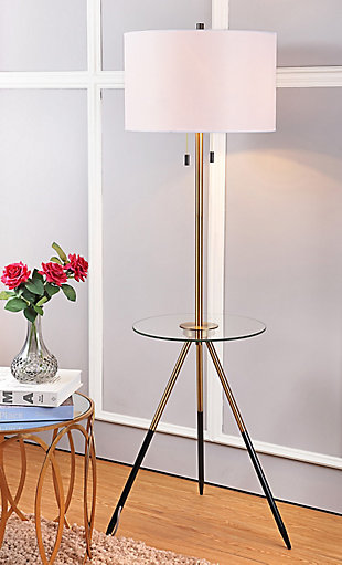 Morrison  Floor Lamp Side Table, , rollover