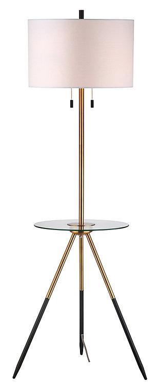 Morrison  Floor Lamp Side Table, , large
