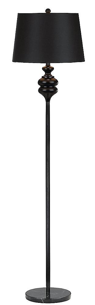 Torc  Floor Lamp, Black, large