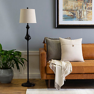 Surya Clarkson Floor Lamp, , rollover