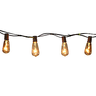 Everlasting Glow 10' Outdoor Electric Patio Light String, , large
