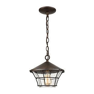 Bianca  1-Light Hanging Pendant in Hazelnut Bronze, , large