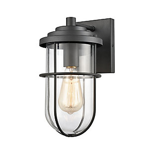 Bianca  1-Light Sconce in Charcoal, , large