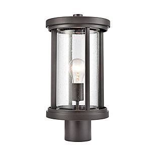 Bianca  1-Light Post Mount in Oil Rubbed Bronze, Oil Rubbed Bronze, large
