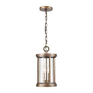 Bianca  2-Light Hanging Pendant in Vintage Brass, Vintage Brass, rollover