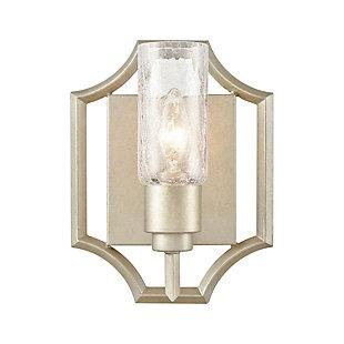 Elk Home 1-Light Vanity Light in Aged Silver, , large