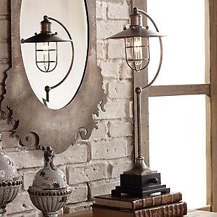 Uttermost Toledo Industrial Lamp, , rollover