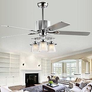 Safavieh Parlin Ceiling Light Fan, , rollover