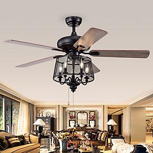 Safavieh Jonie Ceiling Light Fan, , rollover