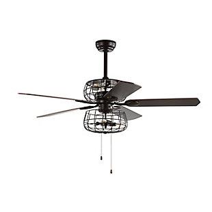 Safavieh Erving Ceiling Light Fan, , large
