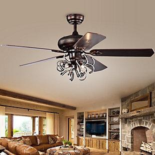 Safavieh Sensa Ceiling Light Fan, , rollover